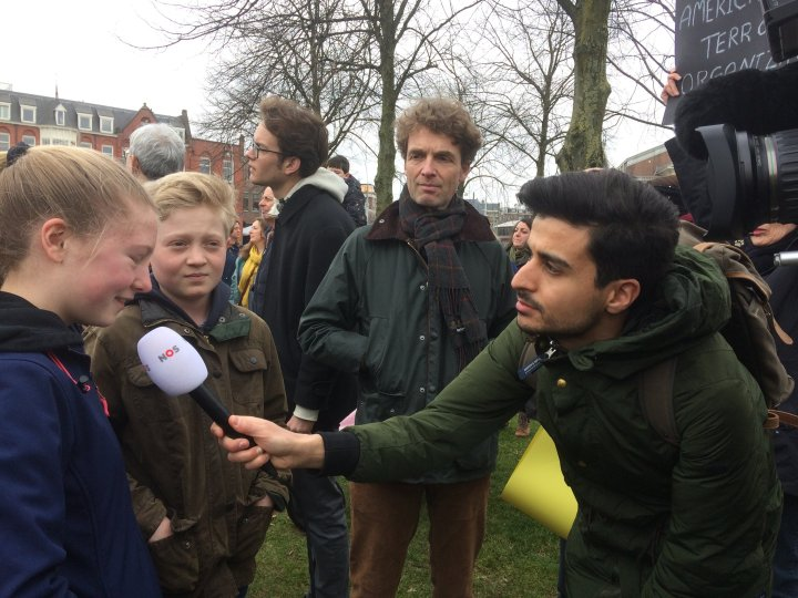 The kids ended up on Dutch TV.