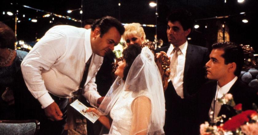 It started to look a little like the wedding scene from Goodfellas.